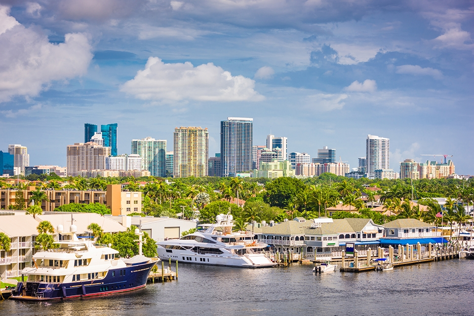 Health and Life Insurance in Florida, photo of Florida Marina.